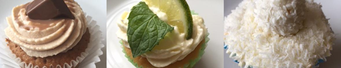 Kinderschokolade Cup Cake , Hugo Cup Cake, Raffaello Cup Cake